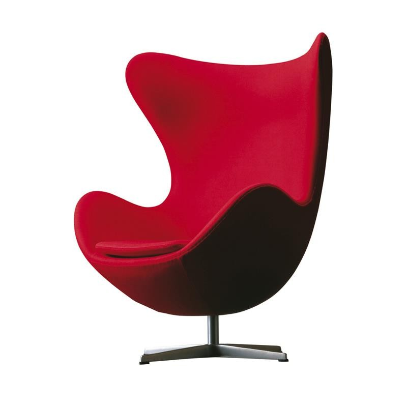 fauteuil oeuf rouge - Fauteuil Oeuf