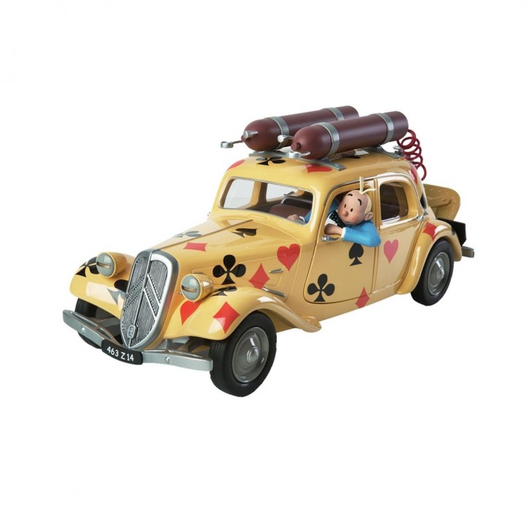 Véhicule de collection - Spirou & Fantasio Citroen traction 11B 1939