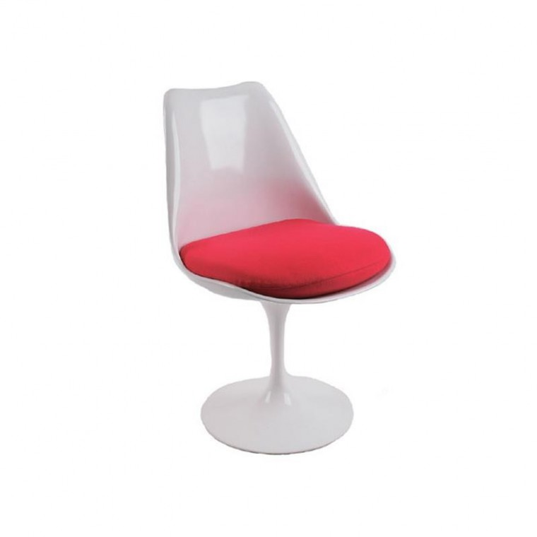 Chaise Tulip Chair - Rouge