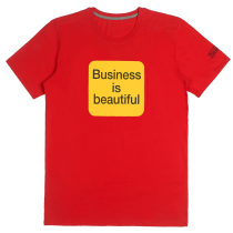 T-shirt Business is Beautiful - Rouge