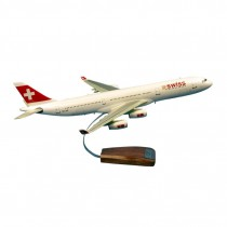 Maquette avion Swiss Airbus A340-313
