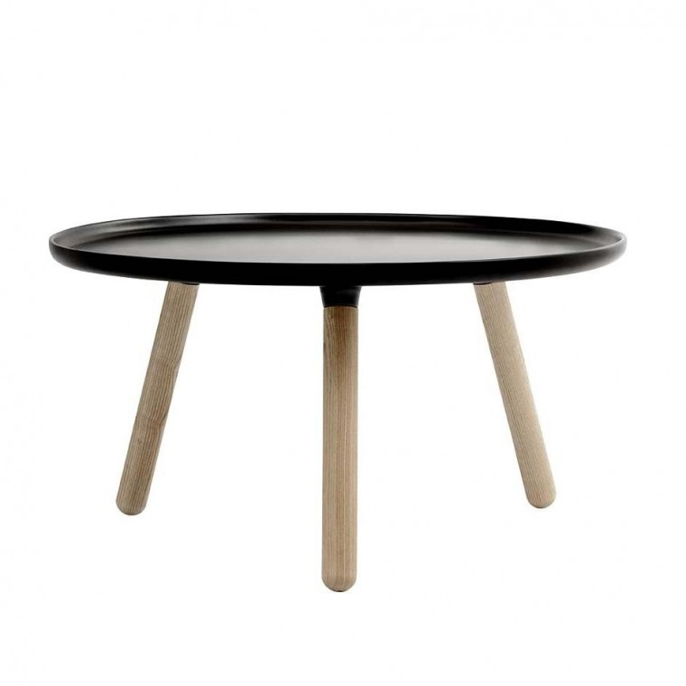 Table basse Tablo large - Noir