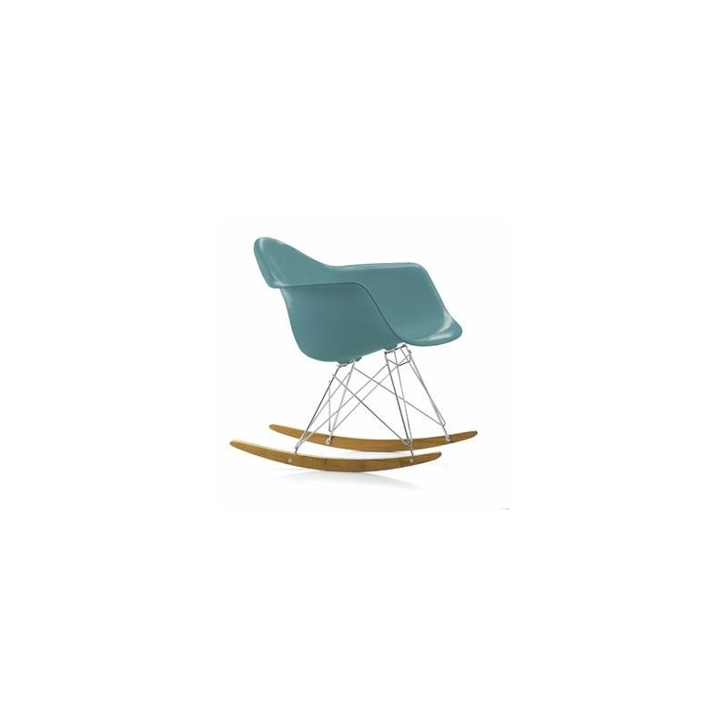 Fauteuil eames plastic arm chair rar bleu ocean vitra for Fauteuil rar eames vitra