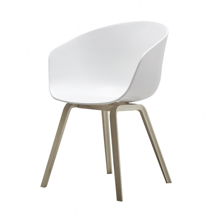 Chaise About a chair AAC 22 - Blanc