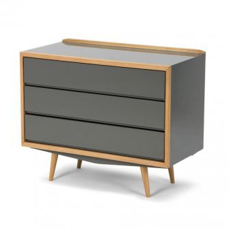Exclusivité - Commode 50's - Gris